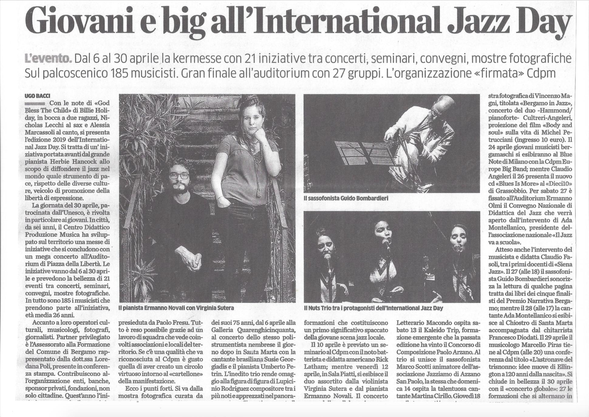Internatonal Jazz Day